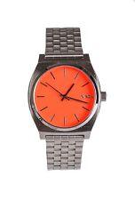 Nixon Women's Orange Minimal 15J 110 mm Time Teller 3533 Analog Display Watch