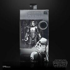 Star Wars Black Series Carbonized Stormtrooper Metallic Action Figure IN STOCK
