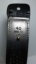POLICE OFFICER'S HOLSTER BELT * SIZE- 40 SAFARILAND * MODEL 87 WITH ACCESSORIES