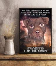 Patterdale Terrier Storm Gifts for Lovers Wall Decor Poster (no frame)