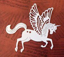 Intricut - Unicorn Die Cuts (pack of 8) white