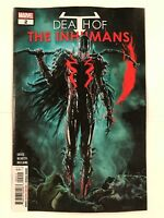 Death of the Inhumans #2 Marvel Comic 1st Print 2018 unread NM
