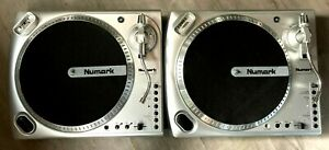 "2 X NUMARK TURNTABLES (PAIR) - 12"" VINYL RECORD PLAYER DECKS GAMESROOM DJ"