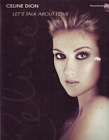 Let's Talk about Love : Celine Dion Sheet Music Songbook Song Book