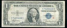 "FR. 1610 1935-A $1 ONE DOLLAR SILVER CERTIFICATE ""EXPERIMENTAL S"" VERY FINE"