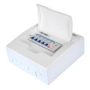 63A 30mA FI-Schalter Sicherungsautomat Satz mit 4x MCB (2x 6A +1x 16A +1x 32A)