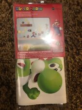 New Super Mario BUILD A SCENE Nintendo Wall Decals Kids Game RoomStickers Decor