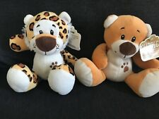Two Cuddles Collection Soft/Plush Toys Tiger & Bear