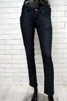 Jeans FORNARINA Donna Taglia 26 Jeans Woman Pantalone Elastico Corto Capri 3