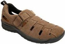 Drew Men's Dublin Sandals Olive Suede