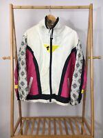 VTG Active Frontier Women's Full Zip Track Windbreaker Jacket Size L