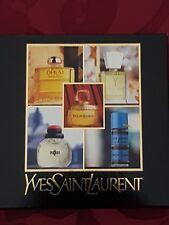 Vintage Yves Saint Laurent YSL Perfume Miniature Giftset - Rare/discontinued