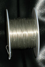 24 Gauge SILVER Crafts Beading Jewelry WIRE LOT 90 Feet Per Spool NEW