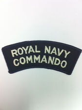 Royal Navy Commando Shoulder Flash