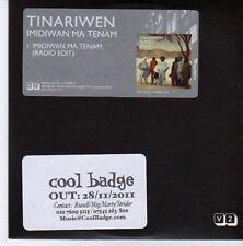 (CE583) Tinariwen, Imidiwan Ma Tenam - 2011 DJ CD