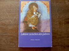 """"""" Von der Kraft der Wörter """" Lektüre zwischen den Jahren 1988 / Suhrkamp Verlag"""