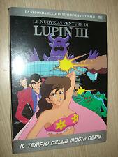 DVD N° 3 EL NUEVO AVENTURAS EL LUPIN III 3 º EL TEMPLO DE de MAGIA NEGRA