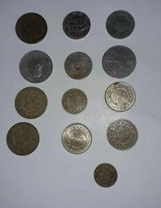 lot de 13 piece ancienne monnaie tunisie