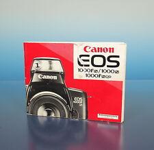 Canon EOS 1000fn/1000n/1000 fnqd Manuale di Istruzioni Instructions de - 91289