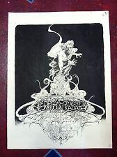 DREAM QUEST of the UNKNOWN KADATH original cover art TOM SUTTON, LOVECRAFT!!!