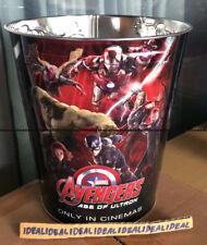 Avengers: Age of Ultron Tin Popcorn BUCKET Tub 130 oz fr Thailand