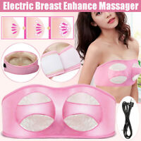 Electric Breast Enlarger Massager Vibrating Breast Enhancer Massage