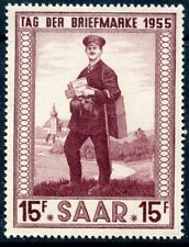 STAMP /  FRENCH COLONIES / SAAR / SARRE  N° 342 ** FACTEUR RURAL