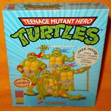 VINTAGE 1990 COMMODORE AMIGA TEENAGE MUTANT HERO TURTLES TMHT VIDEO GAME BOXED