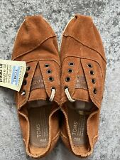 Toms Mens Rust Suede Trainers Uk 8.5 Bnwt