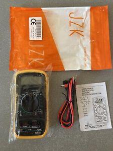 TESTER MULTIMETRO XL830L MULTIMETER DIGITALE PROFESSIONALE CON CAVI SONORO