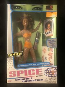 1998 Galoob Spice Girls Concert Collection Scary Spice Mel B Doll New Sealed