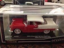 1/43 Chevrolet 1955 Bel Air (Sealed) Vitesse  India Ivory/gypsy Red