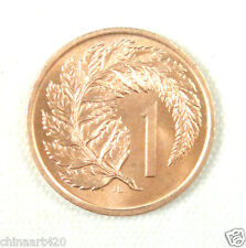 New Zealand 1 Cent Coin, 1967 UNC