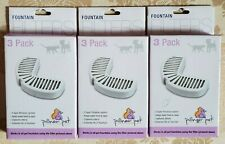 Lot of 3 Pioneer Pet Foutain Filters 3 Pack Per Box (9 Filters)