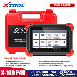 XTOOL X100 PAD Auto OBD2 Scanner Car IMMO Key Programming ABS Diagnotic+EEPROM