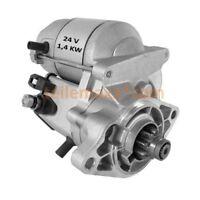24V Starter Anlasser Kubota V1200 V800-BBS Omme Lift ... 128000-5411 16617-63011