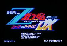 Mobile Suit : Z Gundam DX Disk with Dongle Soft kit Video Arcade Game Capcom