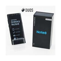 """SMARTPHONE SAMSUNG GALAXY NOTE 8 DUOS 64GB BLACK 6,3"""" DUALSIM N950FD N950F."""