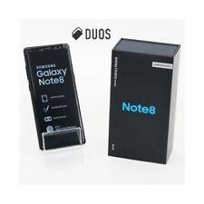 "SMARTPHONE SAMSUNG GALAXY NOTE 8 DUOS MIDNIGHT BLACK 64GB + 6GB 6,3"" DUAL SIM."