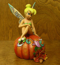 Jim Shore Disney Traditions 4046028 PUMPKIN PIXIE TINKER BELL, Halloween, 7""