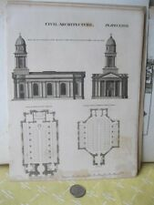 Vintage Print,CHURCH ST.MARY MAGDALENE,Salop,Architecture