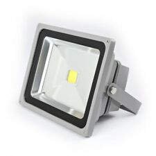 2 x 30W LED Cool White IP65 Outdoor Driveway Garden & Patio Security Flood Light