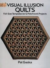 Visual Illusion Quilts: Full-Size Templates for 12