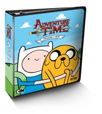 ADVENTURE TIME TRADING CARDS ALBUM/BINDER !!!