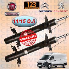 2 AMMORTIZZATORI ANTERIORI FIAT DUCATO, BOXER, JUMPER DAL '06  11-15 Qli