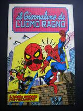§ IL GIORNALINO DE L' UOMO RAGNO n. 30 - ED. CORNO 1983 !! Q/EDICOLA !!