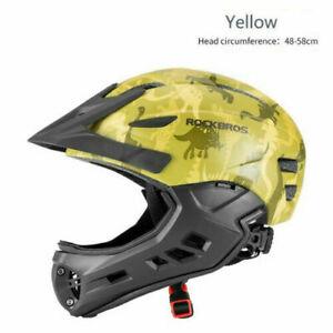 ROCKBROS Kids Safety Helmet for Bike Scooter Bicycle Skate Board Helmet UK STOCK