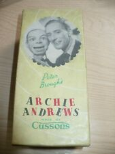 Vintage Cussons Novelty Soap ARCHIE ANDREWS Boxed
