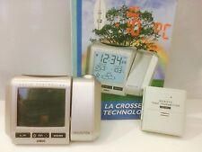 """SVEGLIA RADIOCONTROLLATA  CON PROIEZIONE """"LA CROSSE TECHNOLOGY"""" REF U42543"""