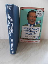 Jelleyman's Thrown a Wobbly: Saturday Afternoons in Front of the Telly SIGNED..